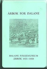 Årbok for Dalane nr. 2 (1971-1978)