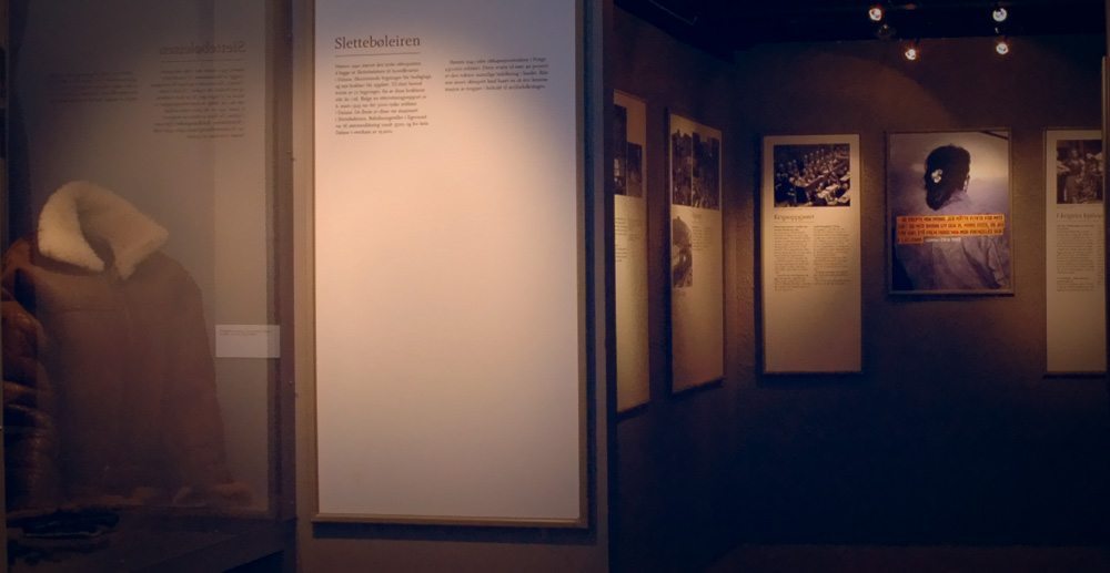 Photo from a part of the war exhibition