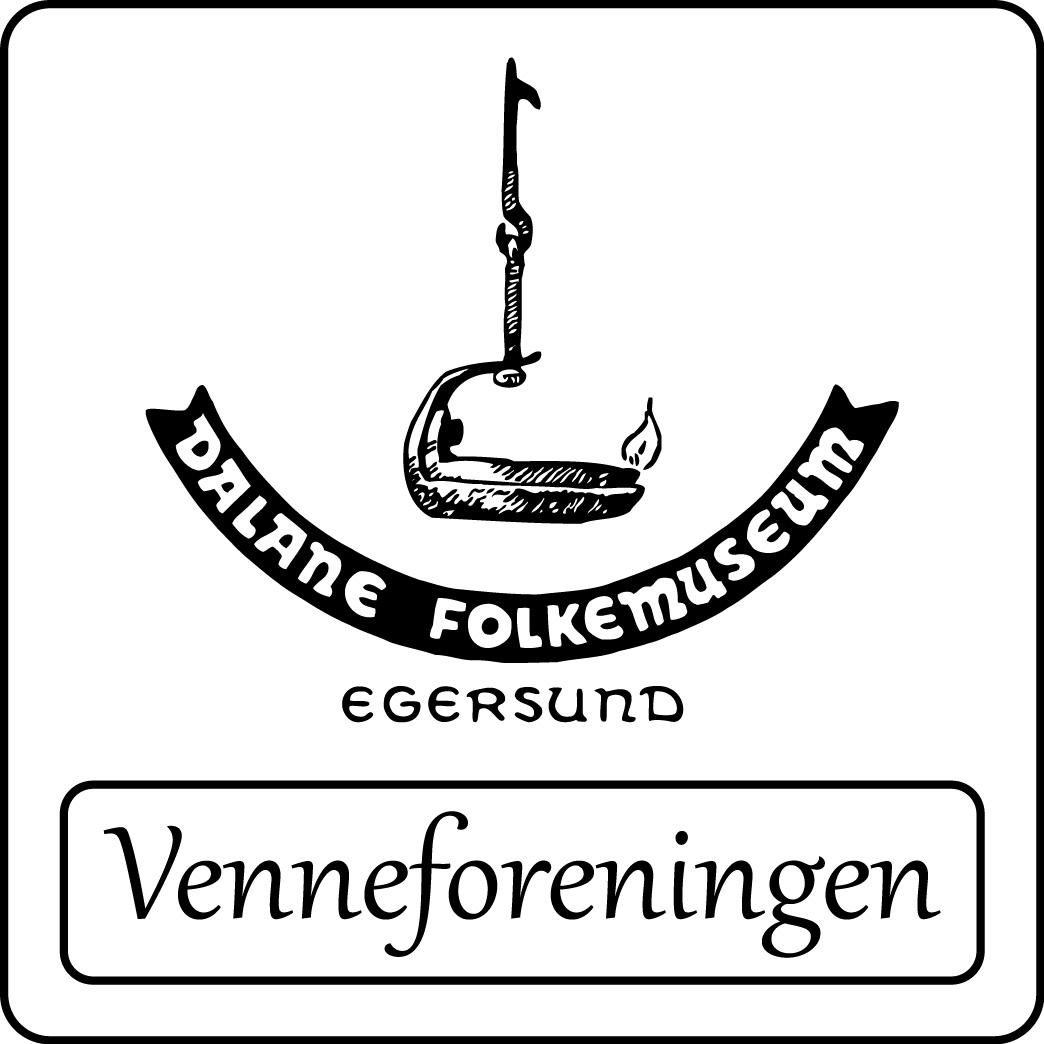Logoen til Dalane Folkemuseums Venneforening.