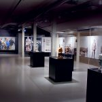 Parts of the exhibition at Egersund Fayancemuseum