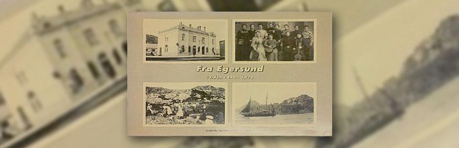 Forsiden av boka Fra Egersund i tiden 1890-1920