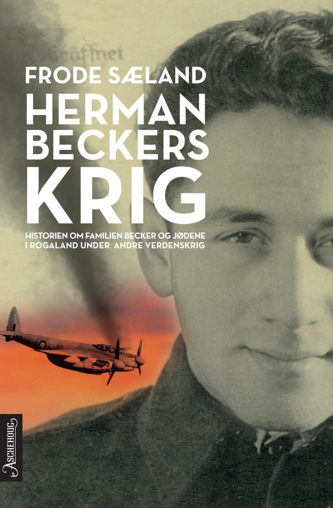 Forsiden av boka Herman Beckers krig