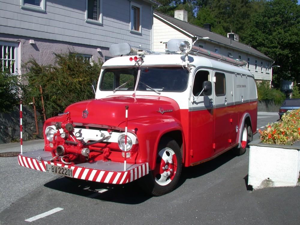 Dalane Folkemuseums brannbil