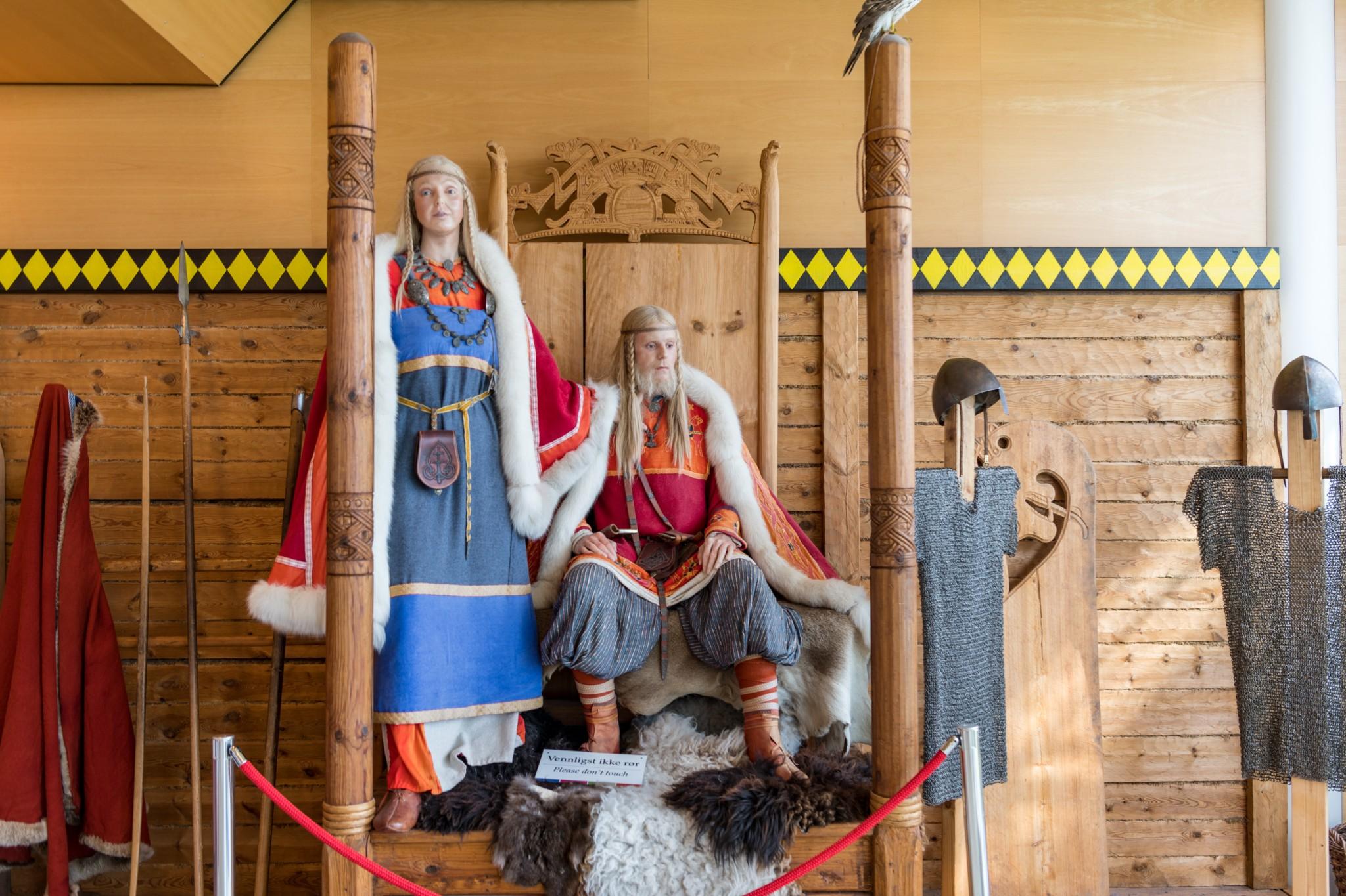 Vikingdukker på Avaldsnes
